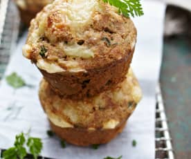 Knoblauch-Kräuter-Muffins