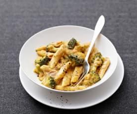 Brokkoli-Schinken-Nudeln