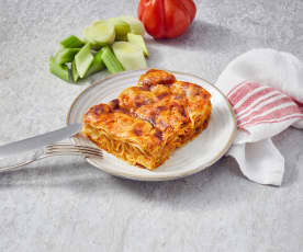 Mediterrane Thunfisch-Lasagne