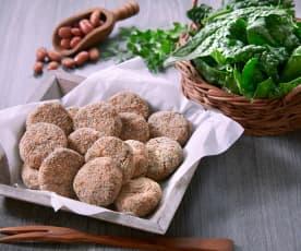 Crocchette di fagioli e spinaci (vegan)