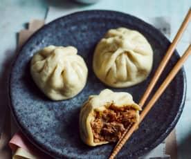 Baozi (gedämpfte Teigtaschen) (包子)
