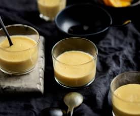 Orange liqueur zabaglione