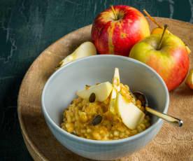 Frühstücksgerste Apfel-Karotte