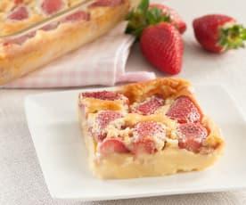 Pastel francés con fresas (millasson)