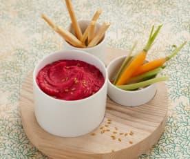 Hummus von Rote Bete