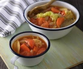 紅燒蔬菜湯