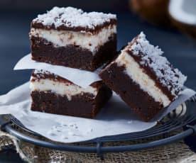 Triple-Kokos-Brownies