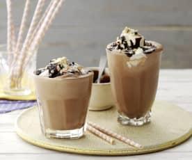 Batido de crema de cacao y avellanas