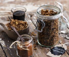 Pikantní kořeněná granola