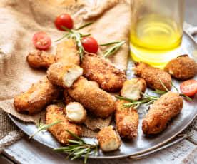 Croquetas au poulet et curry