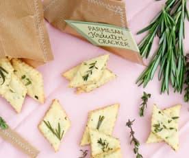 Parmesan Kräuter Cracker