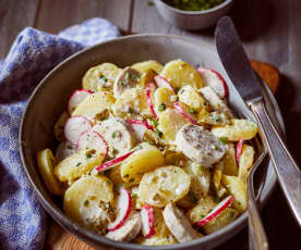 Vydatný bramborový salát