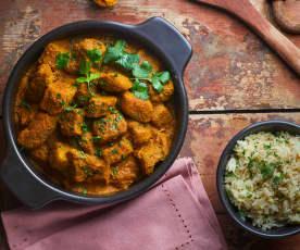 Spezzatino al curry a Cottura Lenta