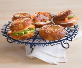 Flourless bagels