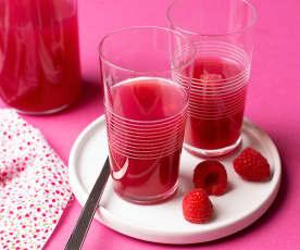 Infusión de frutos rojos con canela y jengibre