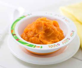 Vegetable purée (sweet potato)