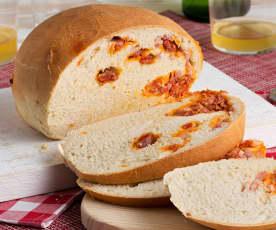 Pan de sidra preñao