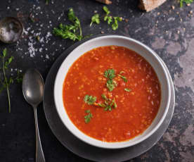 Pikantna marokańska zupa z soczewicą