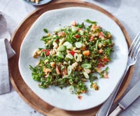 Grünkohl-Paprika-Salat
