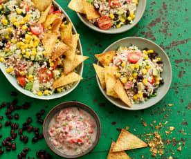 Salada de burrito