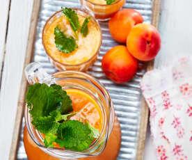 Aprikosen-Zitronen-Limonade