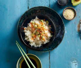 Sushi em taça