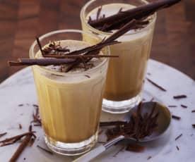Geeister Kaffeeschaum