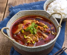 Shui zhu niu rou (chilli beef)
