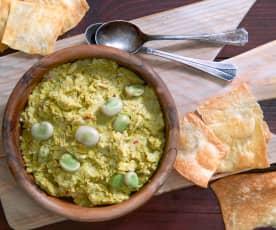 Hummus di fave (vegan)