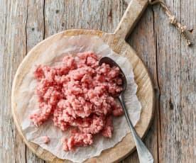 Carne de cerdo picada (500 g)