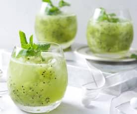 Mojito de kiwi (sin alcohol)