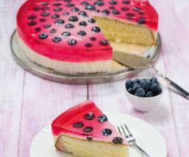 Tort biszkoptowy z masą z mascarpone
