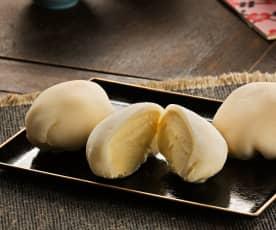 Mochi relleno de helado (Mochi aisukurimu) - Japón
