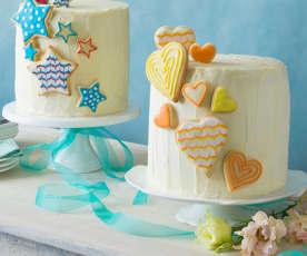 Six-layer cake