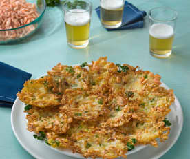 Tortillitas de camarones (sin gluten)