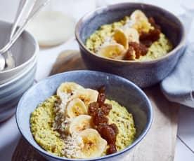Gewürz-Porridge