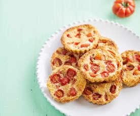 Tarteletes doces de tomate