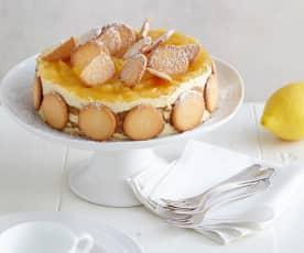 Apfel-Keks-Charlotte