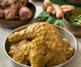 Rendang ayam nogori (chilli padi chicken rendang)
