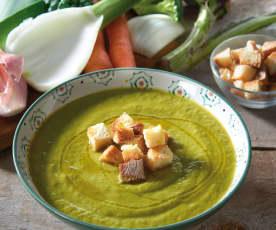Zupa krem z resztek warzyw