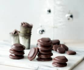 Chocolate mint thins