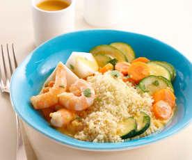 Couscous de crevettes et sa bisque (Découverte)