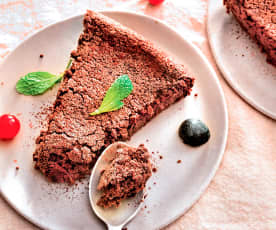 Gâteau moelleux chocolat et courgettes