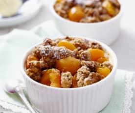 Meruňkový crumble (bez lepku)