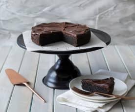 Gluten free chocolate halva cake