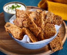 Dinkel-Cracker