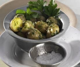 Kartoffelsalat mediterran