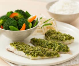 Asian-style fish fillets