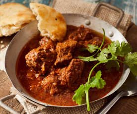 Slow Cooking Beef Madras