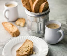 Fennel and Orange Biscotti - Biscotti all'arancia e finocchio